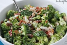 Salads + Dressing
