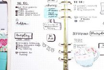 Bujo/Kalender /Notizbuch/Hausaufgabenheft