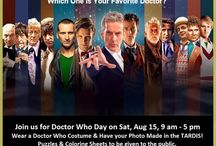 Doctor Who Day - Aug 15, 2015 / by Foley Public Library
