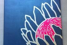 Protea print