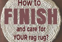 Rag Rug Tutorials