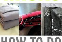 how to fold clothes