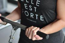 Workout clothes / by Monique Hamm