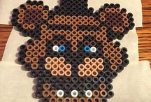 fnaf perler bead patterns