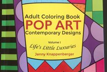 Coloring Books / Coloring for adults. Coloring isn't just for kids. The benefits of coloring are for adults too. Relax by coloring sheets that interest you! Try my unique POP ART Interactive coloring sheets. Find them on Amazon: amzn.to/1NumJwi