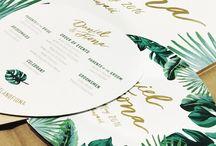 DESIGN | INVITATION AND FRAME