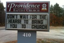 Funny Signs / Thanks Ellen Degeneres for these funny signs! / by John L