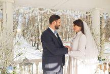 Winterhochzeit / Findet Inspirationen zu eurer Hochzeit in der kalten Jahreszeit.