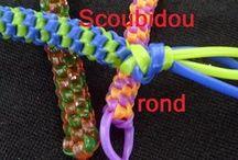 video tuto Bracelets en Scoubidou