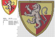 Harry Potter logos free cross stitch patterns / Harry Potter logos free cross stitch patterns