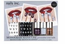 Monogram Manicure / Personalise your nails with the Monogram Manicure collection!  What's your message?   #monogrammani