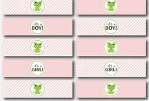 Frog Baby Shower Theme