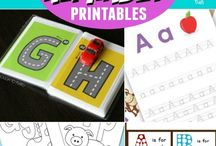 ABC crafts for elementary school / Formingsoppgaver til hver bokstav