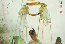 Indonesian Art (6) Lee man Fong / Paintings by Lee man Fong