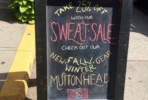 Chalkboard Art / Sandwich chalkboard designs!