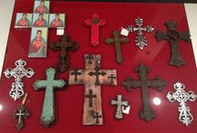 Cross Collection / My collection of crosses for a wall of crosses that I'm doing in my home.