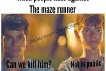 Maze runner / Maze Runner Cast and Thomas Brodie Sangster...