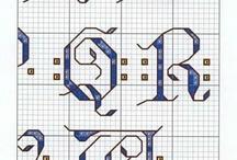 korssting bokstaver