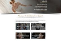 www.WeddingDressExpert.co.uk / A few snap shots of our brand new website!