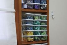 Crafting storage