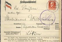 Stamps, Germany, Fieldpost