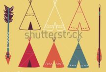 Grace & Savvy / Mandy's TeePee's - logo and graphic indentity for cute teepees