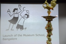Inauguration of the Museum School, Bangalore / The Museum School, Bangalore – is an innovative school for 100 non school going children from the slums of the city.