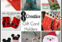 Gift Card Holders / by Sherry Dobreski