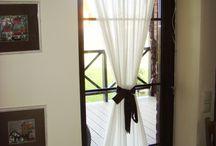оформление стекляной двери