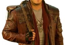 Galaxy 2 Star Lord Leather Coat