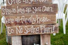Wedding ideas garden