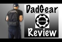DadGear Diaper Bags / Hey dads (and moms)! DadGear diaper bags are here! If you're looking for a cool backpack diaper bag for dad, this brand offers great variety of options to choose from. Take a look at these reviews!