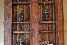 Furniture and Wood Craft Ideas / by Lori Gunter