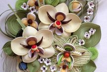 quilling orchids
