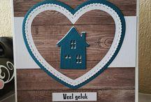 přání s domečky
