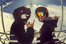 Skiing♡♡♥