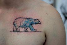 lubie mieć tatuaże...