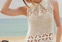 crochet blous / by Tikkyy Sailek