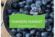 SOAR Farmers Market / The SOAR (Streeterville Organization of Active Residents) Farmers Market brings locally grown produce to downtown Chicago.
