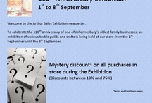 Arthur Bales 110th Anniversary Exhibition 1st to 8th Sept 2012