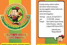 The New Beginning / The opening of Nasi Uduk Kebon kacang 'bang adnand'