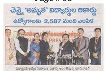 Chennais Amirta job Fair 2017 Paper Clippings