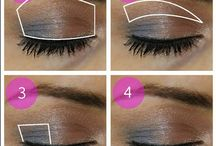 make up / hairstyles and beauty