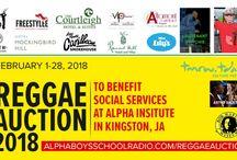 INTERNATIONAL REGGAE EVENTS / International Reggae Event poster section