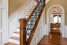 stair architrave