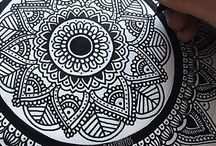 zentangle art dibujos