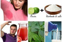 remedios para sudor