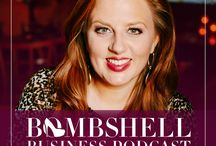 Bombshell Business Podcast / Driven female entrepreneurs passionately improve the lives of their families, communities and the customers they serve. Join Amber Hurdle each week as she uses her experience working with international celebrities and Fortune 100 companies to show women small business owners how to play big. Through strong company cultures, branding, marketing, networking, business systems and smart employee practices, women in business can and will change the world.