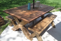 Outdoor Barn Wood Furniture