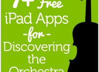 Music Apps / Apps for the music classroom. Includes music iPad apps, music iPhone apps, music Android apps, and more for including more technology in the classroom and learning music at home.